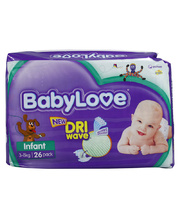*SPECIAL: Babylove Nappies - Infant 4-8kg Pack of 104