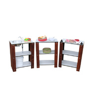 Merbau Outdoor - Kitchen Set of 3