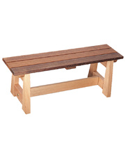 *Jarrah & Hardwood Outdoor - Bench Seat 120cm