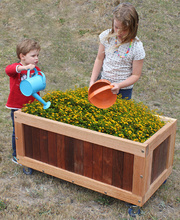 Jarrah & Hardwood Outdoor - Planter Box 100cm