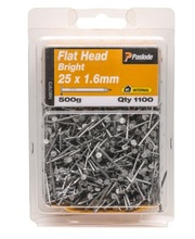 Flat Head Nails 500g - Small 25 x 1.6mm