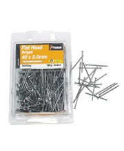 Flat Head Nails 500g - Large 40 x 2.0mm