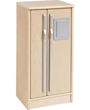 Birch Natural Role Play Preschool Kitchen Set - Fridge/Freezer