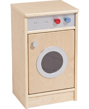 Birch Natural Role Play Preschool Kitchen Set - Washing Machine