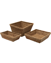 Seagrass Basket - Set of 3