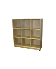 Locker / Cubby Storage Unit - 9 Spaces