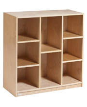 *Locker / Cubby Storage Unit - 6 to 9 Spaces