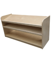 Birch Low Sloping Storage Unit - Unit Only