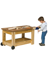 Billy Kidz Birch Work Bench & Vice