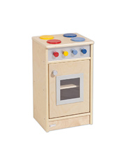 Birch Natural Role Play Toddler Kitchen Set - Cooktop/Oven