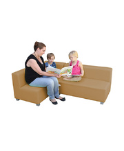 Billy Kidz Cozy Sofa Suite 3pcs - Coffee