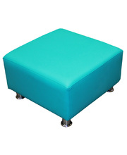 Billy Kidz Single Ottoman - Island Blue