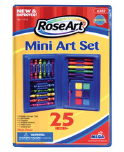 *SPECIAL - RoseArt Mini Art Set - Pack of 25