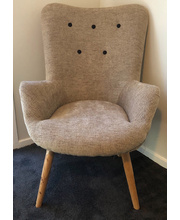 Zara Adult Chair with Linen Look