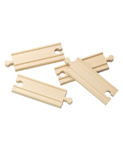 *SPECIAL: Straight Train track set - 4 piece 10cm L