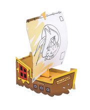 *SPECIAL - Colouring in Set - Calafant Pirate Ship