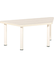 *SPECIAL: Dura Trapezoidal Table Top 1200 x 520mm - Birch