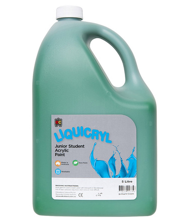 EC Jumbo Liquicryl Paint 5L - Brilliant Green