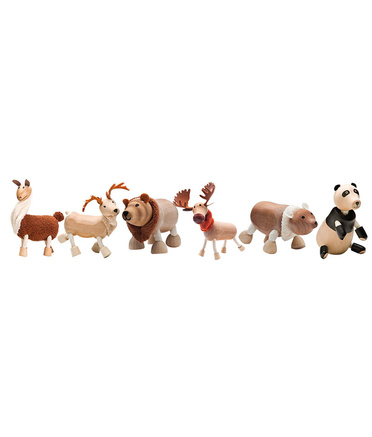 AnaMalz Wild Animals - Set of 6