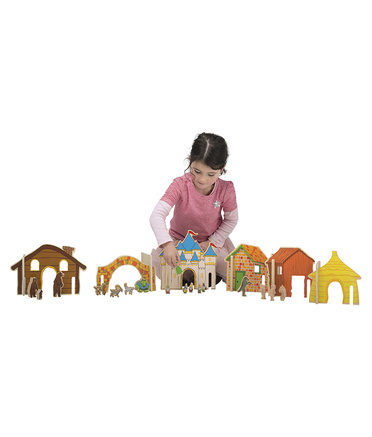 *Happy Architect Fairy Tale - Full Set 44pcs