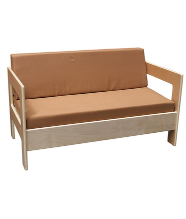 Billy Kidz Natural Wooden Sofa - Double
