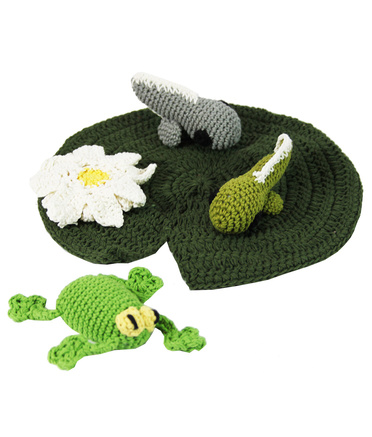 Australiana Crochet Set - Kakadu Frog Lifecycle