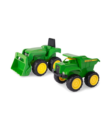 John Deere Extra Large Construction Vehicles - Set of 2