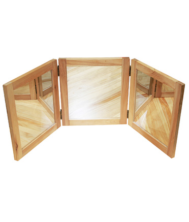 Billy Kidz Birch Three Way Table Top Mirror