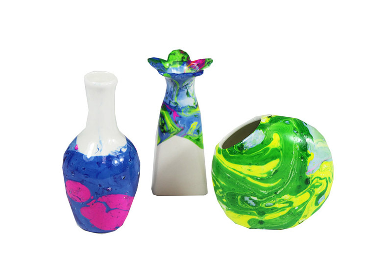 >Mothers Day - Marbled Vases Class Pack