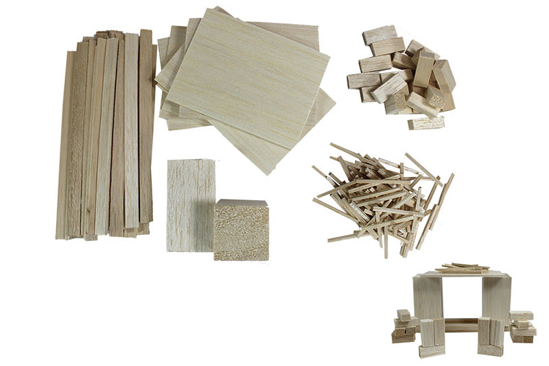 Balsa Basics Assorted - 150pcs
