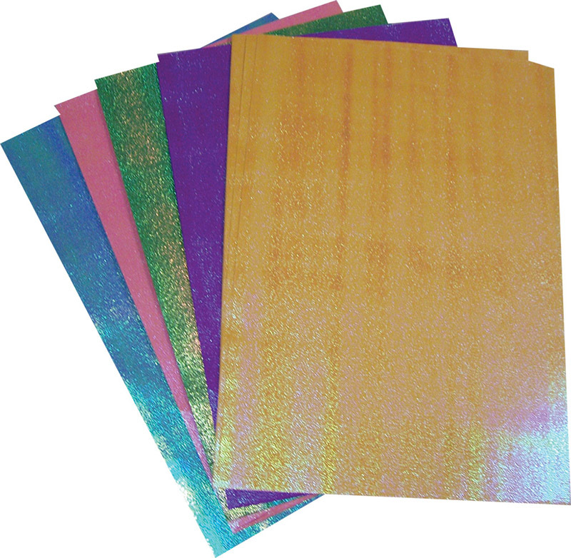 Glitter A4 Paper Assorted Colours - 50pk