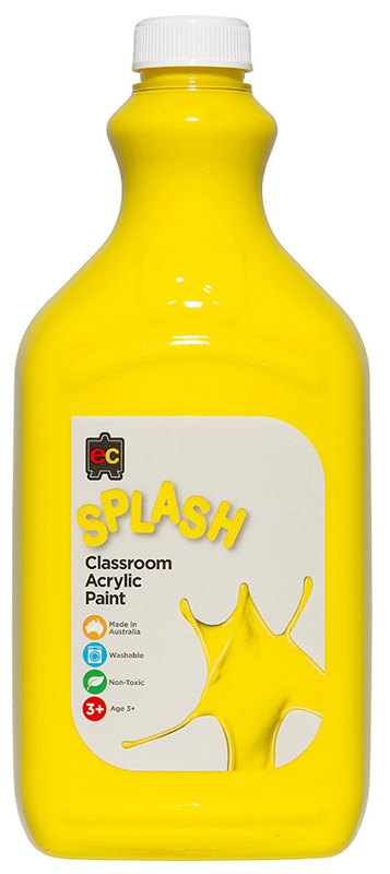 EC Splash Paint 2L - Sunshine (Yellow)