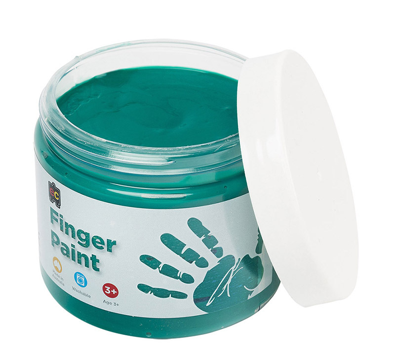 EC Finger Paint 250ml - Green