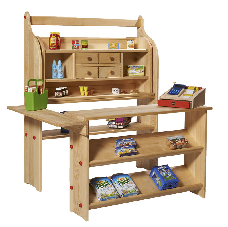 Gluckskafer Children's Wooden Play Shop