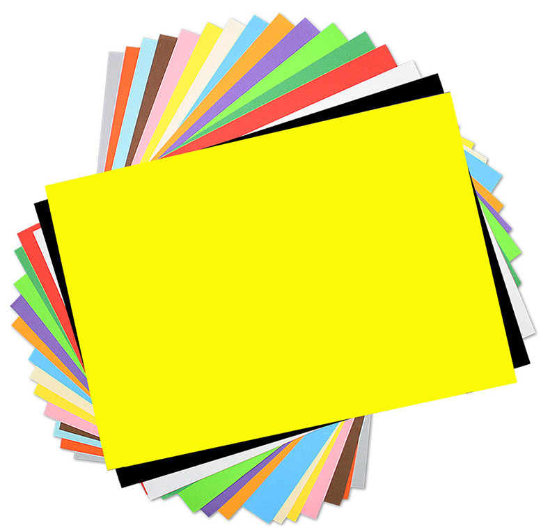 Cover Paper 125gsm A4 210 x 297mm 500pk - Assorted Colours