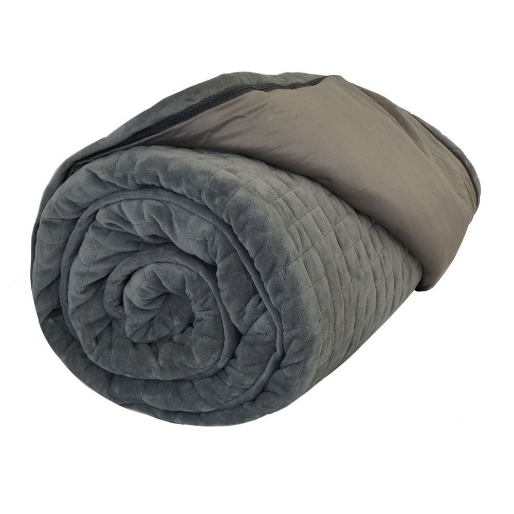 Therapy Premium Weighted Blanket - 3.2kg (Grey Cover Included) 2pcs