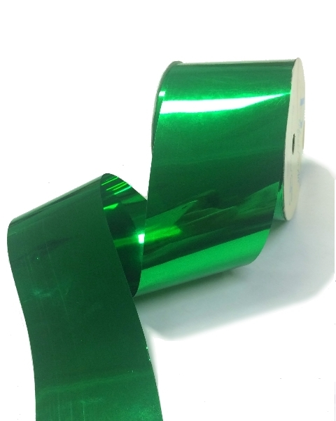 Metallic Wide Ribbon 50mm x 30m - Green