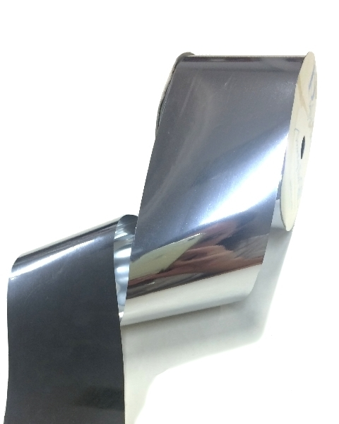 Metallic Wide Ribbon 50mm x 30m - Silver