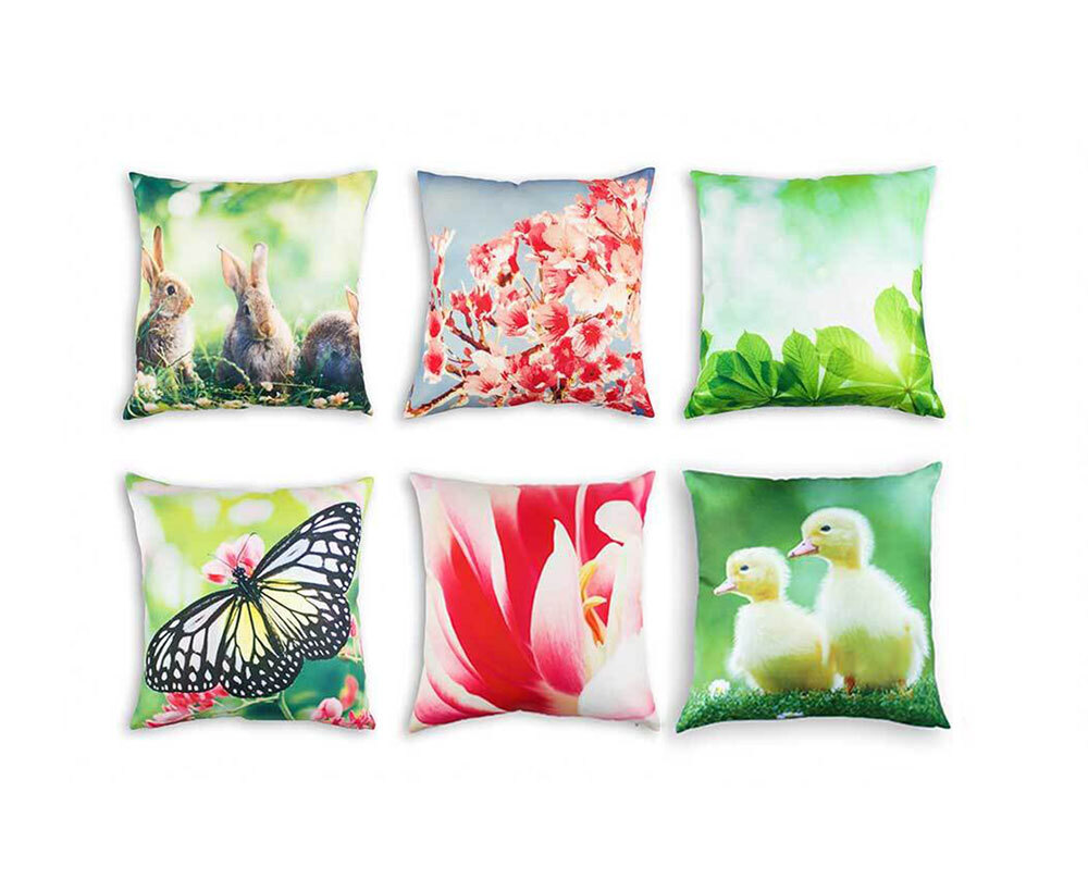 Studio Play Themed Cushion Covers 6pk - Spring