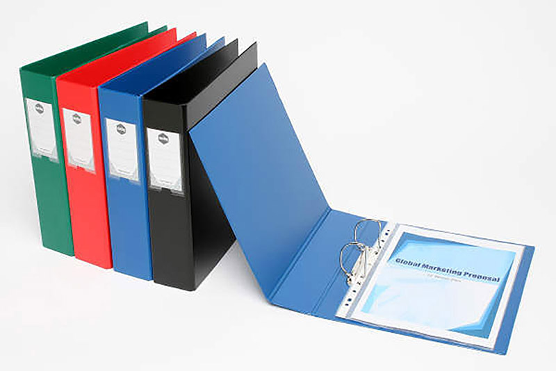 *SPECIAL: Marbig Binder - 4D A4 50mm Blue