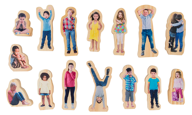 How Am I Feeling Today - Wooden People 15pcs