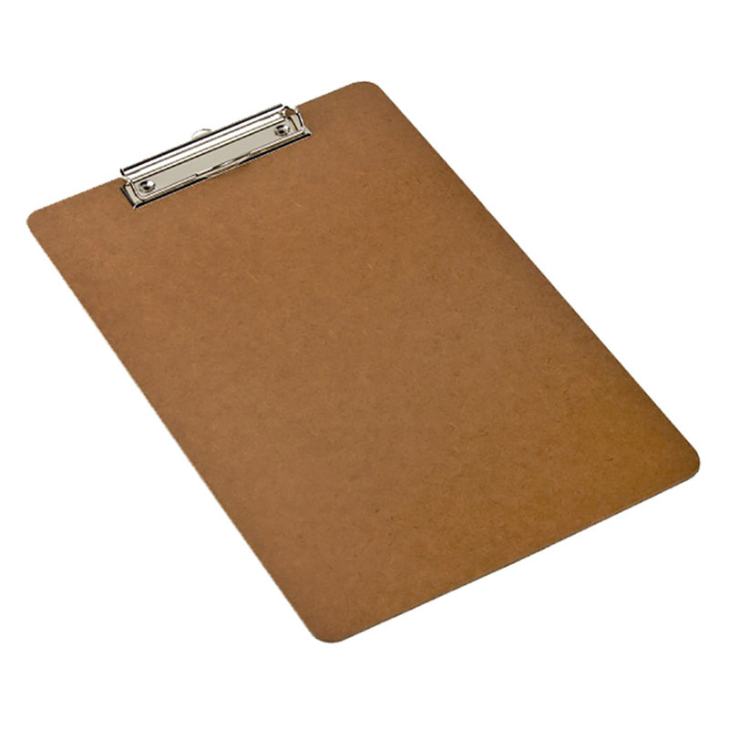 Marbig Clipboard Foolscap Masonite - Small Clip