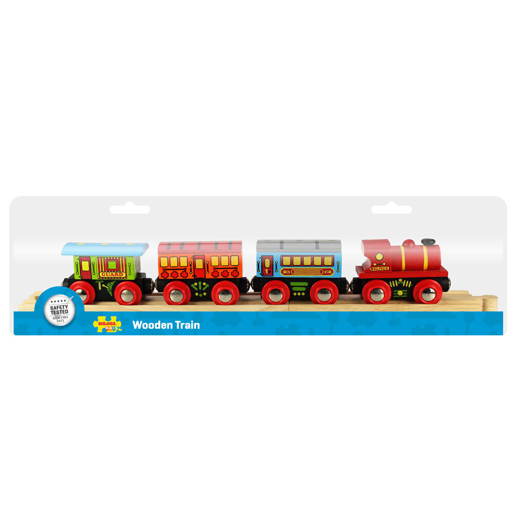 Bigjigs Passenger Train - 7pcs