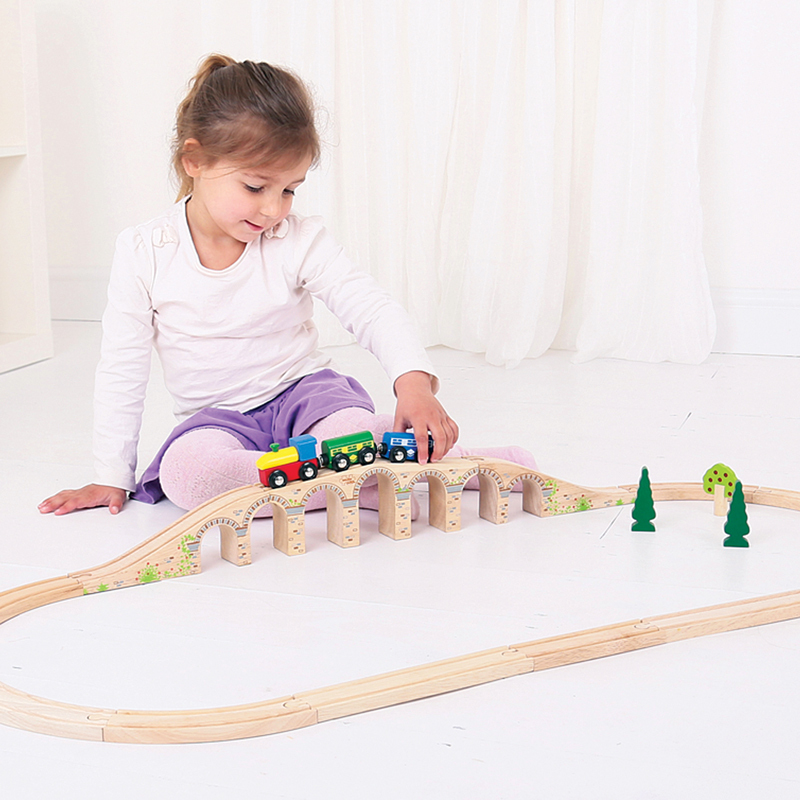 Bigjigs Railway Viaduct - 3pcs