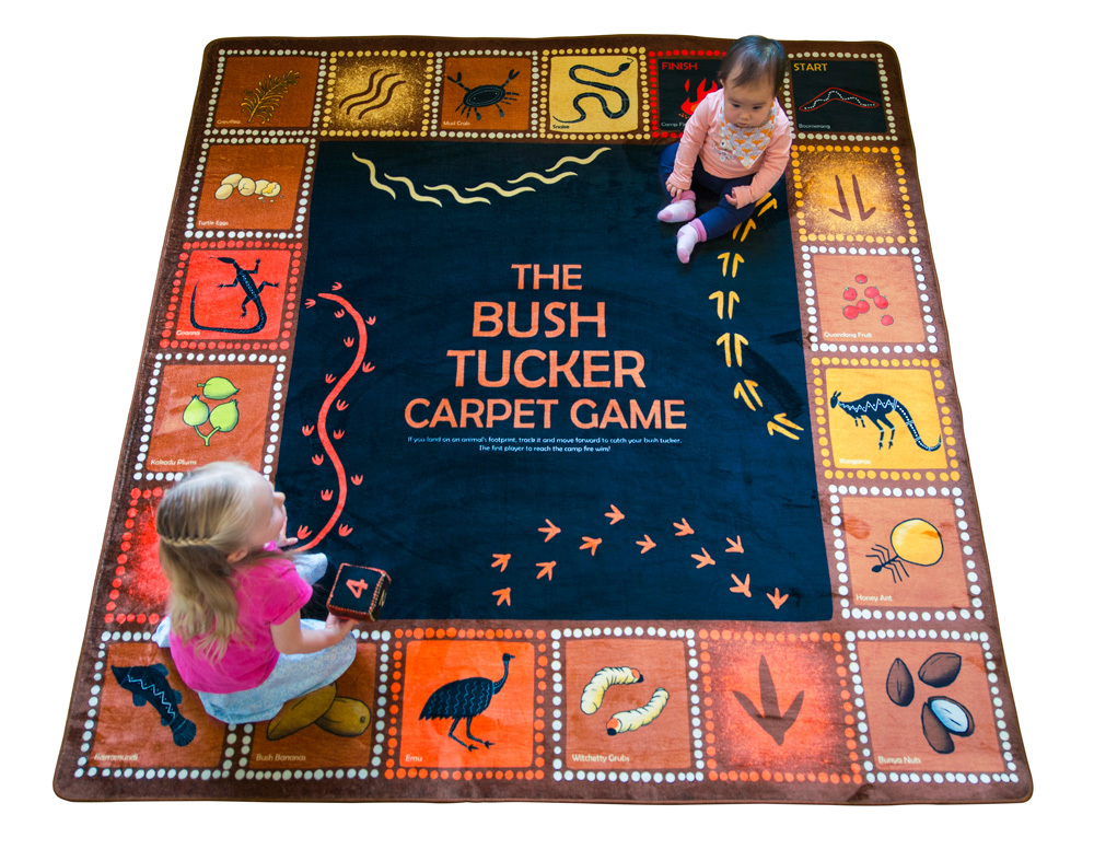 Bush Tucker Activity Carpet Game - 2 x 2m