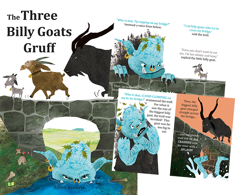 Big Fairy Tale Book - The Three Billy Goats Gruff