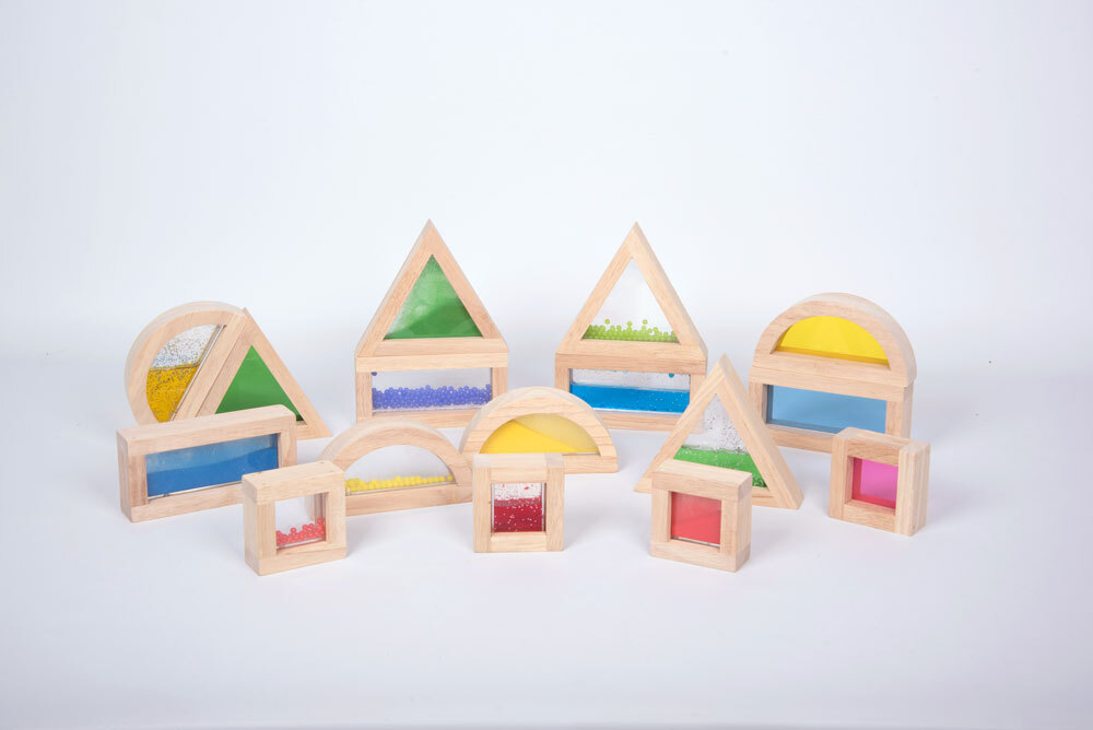 Sensory Blocks - Set of 16