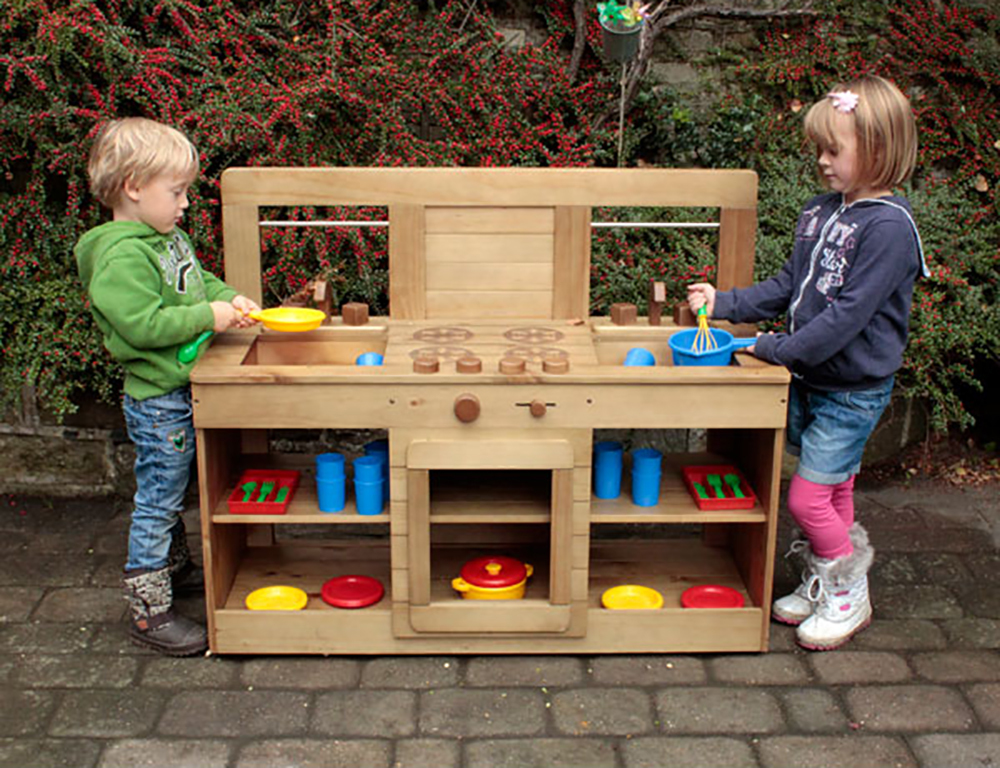 *SPECIAL: Masterkidz Outdoor Wooden Kitchen