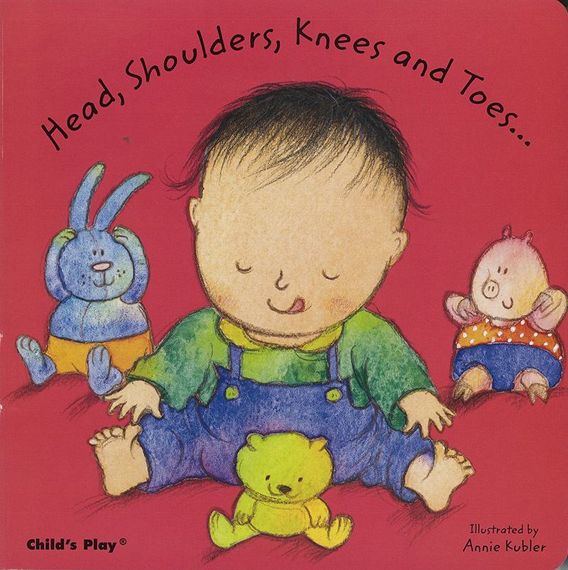 Baby Board Book - Head, Shoulders, Knees And Toes