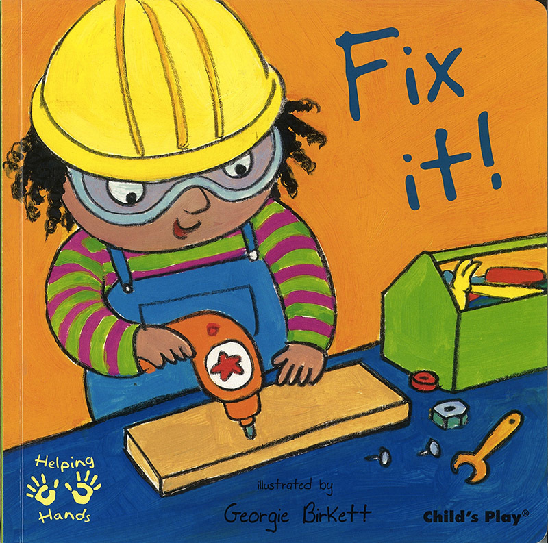 Helping Hands Book - Fix It